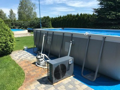 Pompy ciepła do basenów ogrodowych