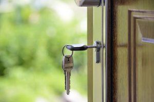 nowe mieszkanie - klucz